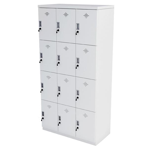Tủ locker 12 ngăn cá nhân